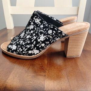 Toms floral Majorca heeled sandals